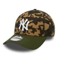 Czapka new era 39thirty new york yankees camo team stretch - 80489245