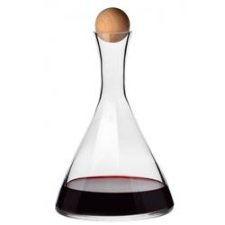 karafka do wina z korkiem 1 l