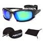 Okulary przeciwsłoneczne sportowe arctica z akcesoriami - s-164g - s-164g