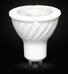 Żarówka led cob 30 gu10 230v 5w biała ciepła 380lm - le