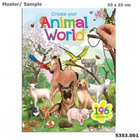 Zestaw kreatywny animal world 5353 top model