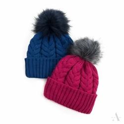 Art of polo wykwintny warkocz niebieska czapka