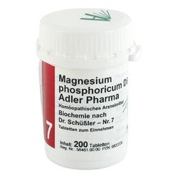Biochemie adler 7 magnesium phos.d6 adl.p. tabl.