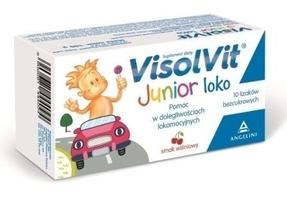 Visolvit junior loko x 10 lizaków