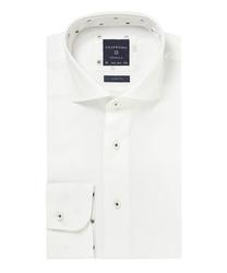 Biała koszula profuomo typu oxford: rozmiar 42 37