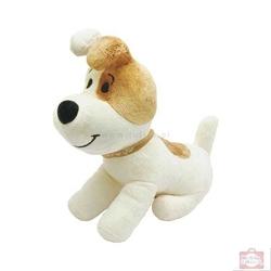 Plusz pies reksio siedzący z głosem 22 cm 0724