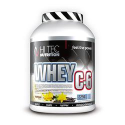 HI-TEC Whey C6 - 2250g - Vanilla