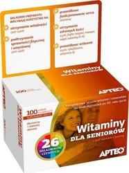 Witaminy dla seniorów apteo x 100 tabletek