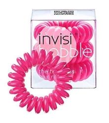 Invisibobble candy pink różowa gumka do włosów x 3 sztuki w opakowaniu