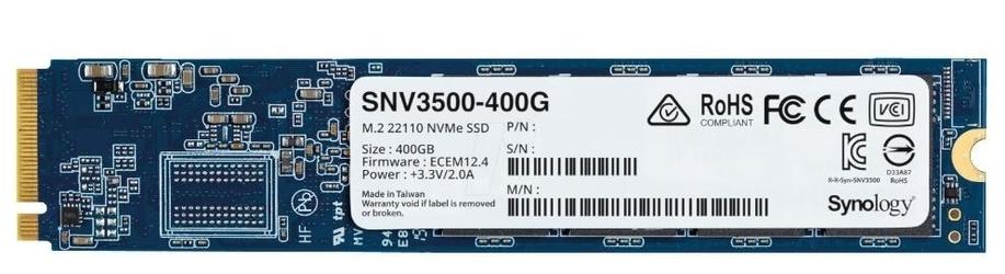 Synology dysk ssd snv3500-400g 400gb m2 22110 nvme pcie 3.0 x4