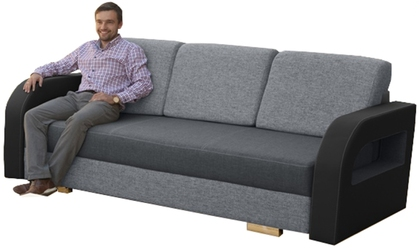 Sofa rozkładana Dakar z pojemnikiem