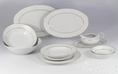 Serwis obiadowy bez wazy dla 12 os. 44 części - e373 yvonne