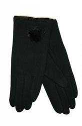 Rękawiczki damskie yo r-129 pompon