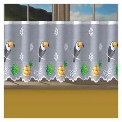 Firanka tukany wysokość 60 cm