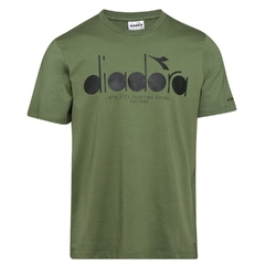Koszulka męska diadora ss t-shirt 5palle oc - zielony