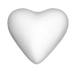 Serce ze styropianu 11 cm - sztuka
