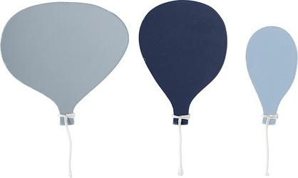 Wieszaki balony niebieskie 3 szt.