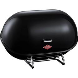 Wesco - pojemnik na pieczywo single breadboy - czarny - czarny