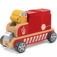 Drewniany samochód składany bombero