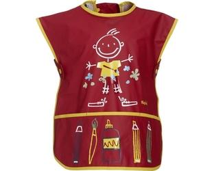 Fartuszek czerwony dla dziecka 2-4 lata
