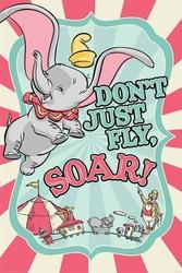 Dumbo circus - plakat bajkowy
