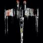 Star wars gwiezdne wojny x-wing fighter - plakat premium wymiar do wyboru: 30x45 cm