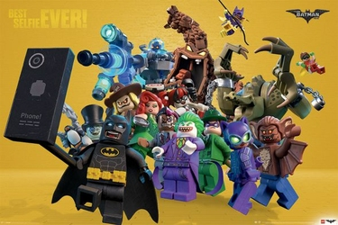 LEGO® Batman Best Selfie Ever - plakat
