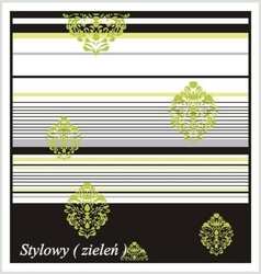 STYLOWY ZIELONY Koc Magic Nights Greno
