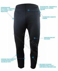 Długie spodnie neoprenowe odchudzające r. M