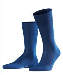 Eleganckie niebieskie bawełniane skarpety falke tiago rozmiar 39-40