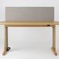 Miloni :: biurko podnoszone drewniane tuo białe szer. 120 cm - projekt tomek rygalik