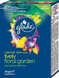 Brise, Lively Floral Garden, elektryczny odświeżacz powietrza w płynie, zapas,20 ml