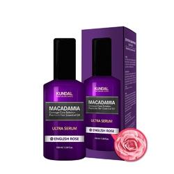 Kundal serum do włosów- angielska róża macadamia ultra serum english rose 100ml