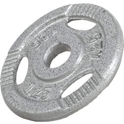 1,25 kg Obciążenie żeliwne z uchwytami na sztangę 30 mm Gorilla Sports