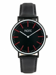Damski zegarek PACIFIC CLOSE zy588b - blackred