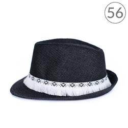 Kapelusz miotełka czarny 56 - czarny 56