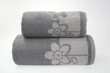 Ręcznik Greno Paloma 2 Popielaty - popielaty