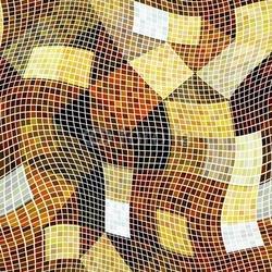 Naklejka samoprzylepna surrealistyczne tło kostki
