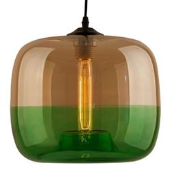 Wisząca lampa london loft 5 cl z dwukolorowymi kloszami