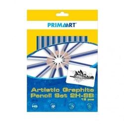 Zestaw ołówków 2h-8b - 12 sztuk
