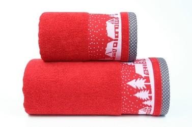 Ręcznik greno sweet dream czerwony - czerwony