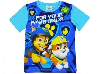 Koszulka psi patrol  paws only  dla chłopca 5 lat