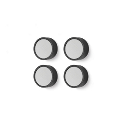 Zack - zestaw 4 magnesów monor ø 2 cm - 2,00 cm