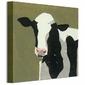 Friesian Cow - Obraz na płótnie