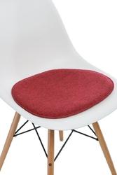 Poduszka na krzesło side chair - czerwony