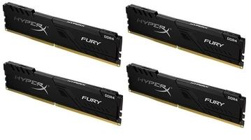 Hyperx pamięć ddr4 fury  64gb3600 416gb cl18