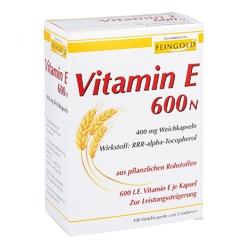 Vitamin e 600 n kapsułki miękkie