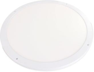 Plafon led slim 45w 3600lm 55cm aluminiowy biały 4000k neutralna barwa - szybka dostawa lub możliwość odbioru w 39 miastach