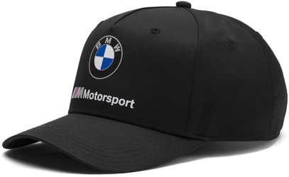 Czapka puma bmw m motorsport czarna