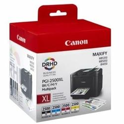 Tusze Oryginalne Canon PGI-2500 CMYK 9254B004 komplet - DARMOWA DOSTAWA w 24h